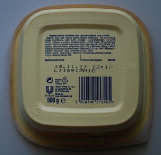 Delma extra z masłem skład