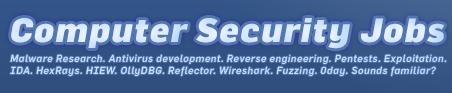 Computer Security Jobs