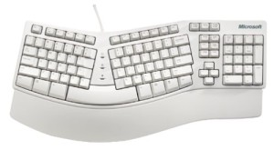 microsoft-ergonomic-keyboard