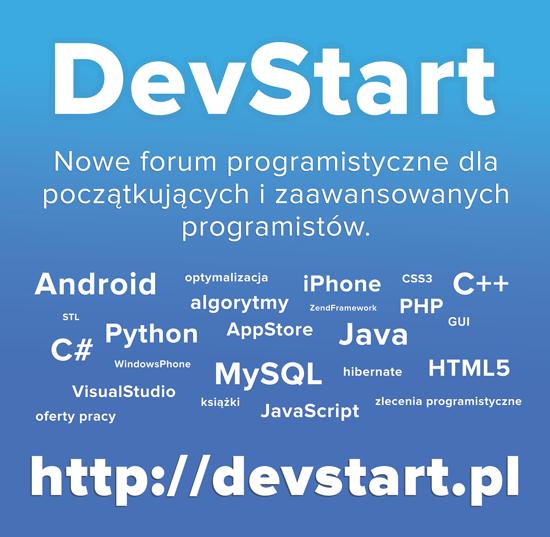 Forum programistyczne DevStart
