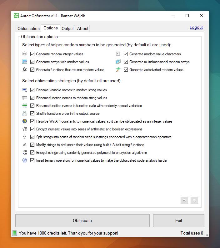 AutoIt Obfuscator v1.1