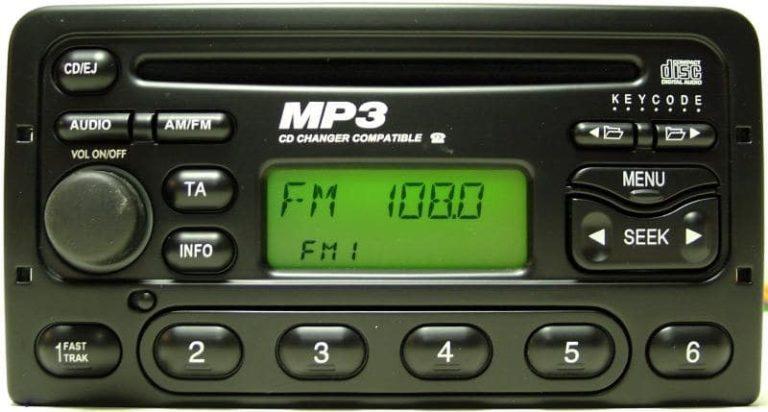 Kod radio Ford